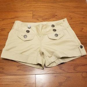 Express khaki shorts